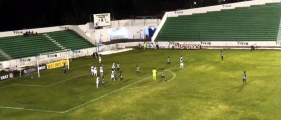 Pernambucano 2018, 9ª rodada: América x Belo Jardim. Crédito: mycujoo.tv/fpf-pe