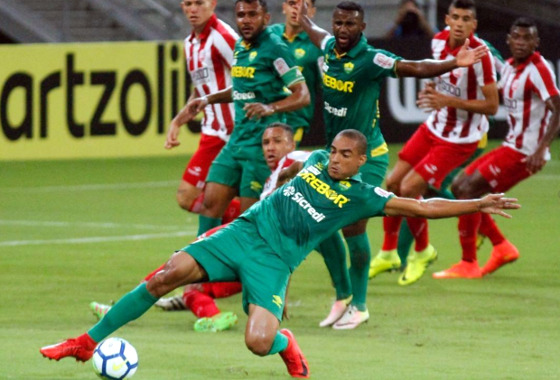 Copa do Brasil 2018, 3ª fase: Náutico 2 x 1 Cuiabá-MT. Foto: Ricardo Fernandes/DP