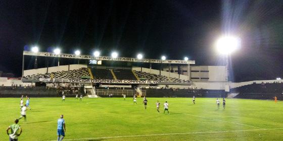 Amistoso, 2018: Central 2 x 0 Dimensão Saúde (AL). Foto: Central/site oficial