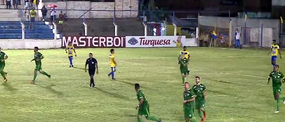 Pernambucano 2018, 8ª rodada: Pesqueira 0 x 1 Salgueiro. Crédito: Globo Nordeste/reprodução