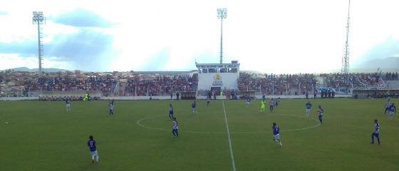 Pernambucano 2018, 10ª rodada: Afogados 4 x 2 Vitória. Foto: Márcio Souza/Futebol no Domingo (via @FutebolDeRaizes)