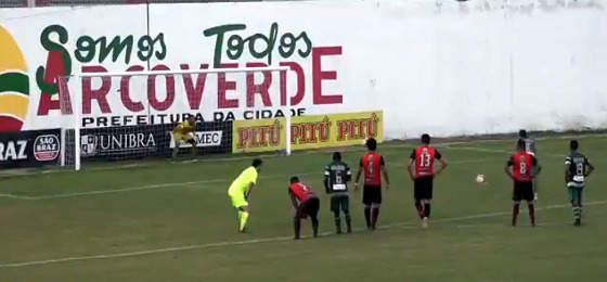Pernambucano 2018, 10ª rodada: Flamengo 1 x 1 América. Crédito: youtube/reprodução