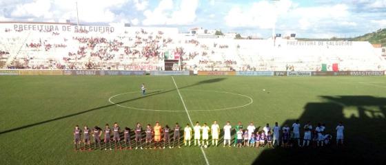 Pernambucano 2018, 10ª rodada: Salgueiro 1 x 1 Sport. Foto: Carcará Net/twitter (@carcaranet)
