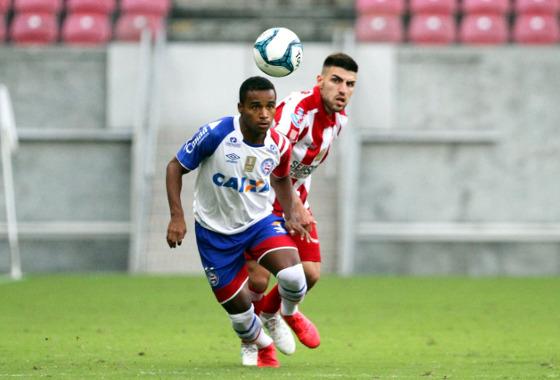 Nordestão 2018, 4ª rodada: Náutico 1 x 0 Bahia. Foto: Marlon Costa/Pernambuco Press (site oficial do Bahia)
