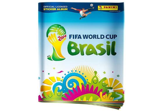 Álbum de figurinhas da Copa 2014. Crédito: Panini/divulgação