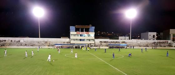 Pernambucano 2018, quartas: Salgueiro 1 x 0 Vitória. Foto: Carcará Net/twitter (@CarcaraNet)