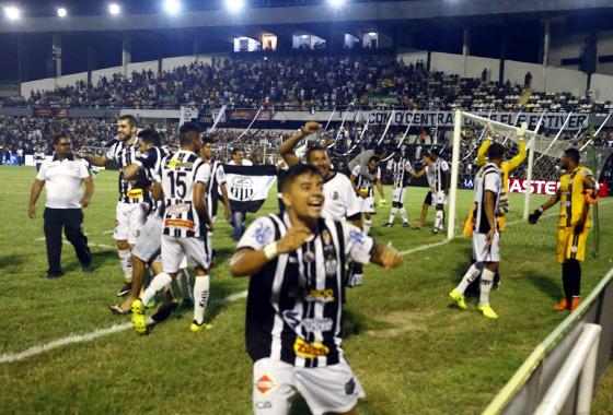 Pernambucano 2018, semifinal: Central 1 x 0 Sport. Foto: Central/twitter (@centraloficial)