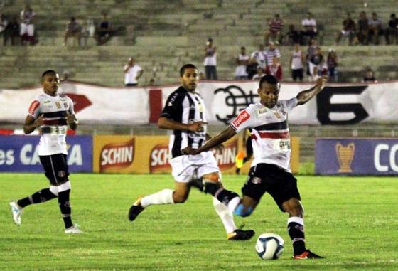 Nordestão 2018, 5ª rodada: Treze 0 x 0 Santa Cruz. Foto: Rodrigo Baltar/Santa Cruz