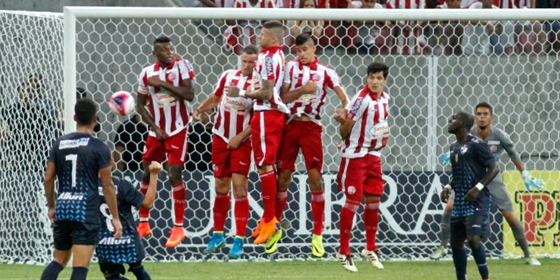 Pernambucano 2018, semifinal: Náutico 1 x 0 Salgueiro. Foto: Ricardo Fernandes/DP