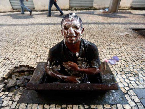 Um banho com mais dignidade