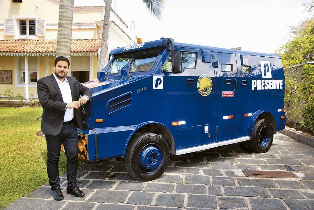 Felipe Gomes, diretor comercial, destaca a tecnologia empregada pela empresa na prestação do serviço - Foto: Divulgação