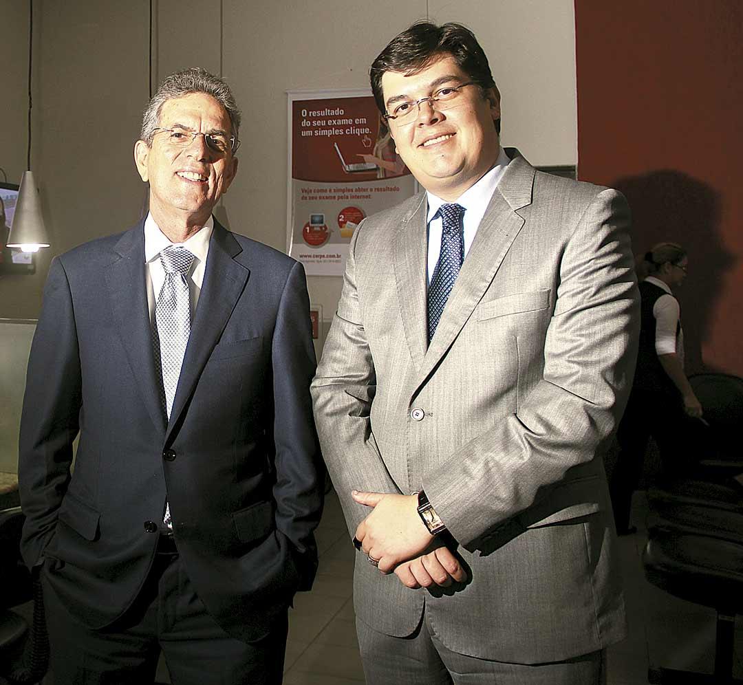 Luciano Almeida e Gustavo Bosco: muitos planos para o futuro - Foto: Arthur de Souza/DP