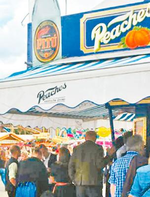 Pitú na Oktoberfest, tradicional festa alemã - Foto: Bruna Siqueira/DP