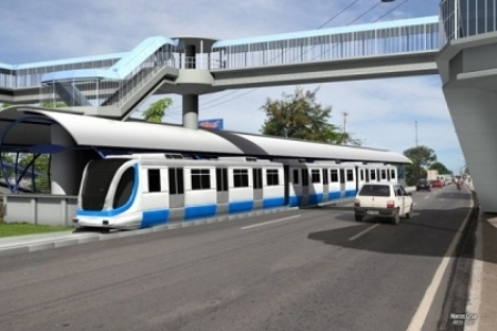Projeto do CBTU-Metrorec do VLT para a BR 101