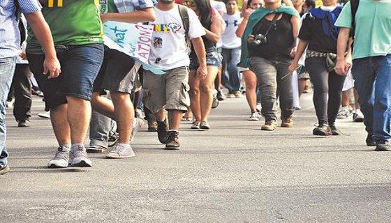 Pedestres - Foto Bruna Monteiro DP/D.A.Press