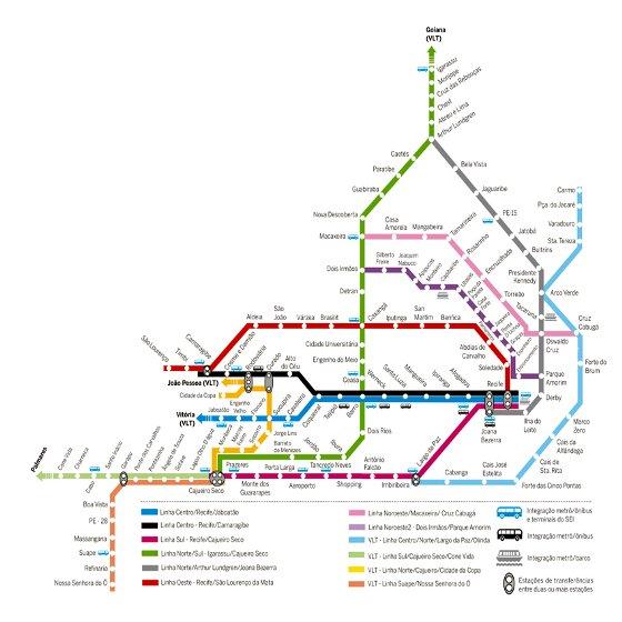 Metrorec Faz Mapeamento De Novas Linhas No Recife Blog Mobilidade