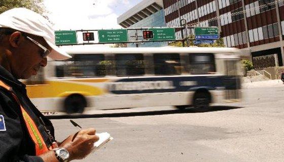 Agentes de trânsito - Foto - Teresa Maia DP/D.A.Press