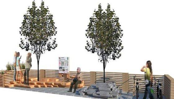 estacionamentos verdes - arte- mobilidade verde