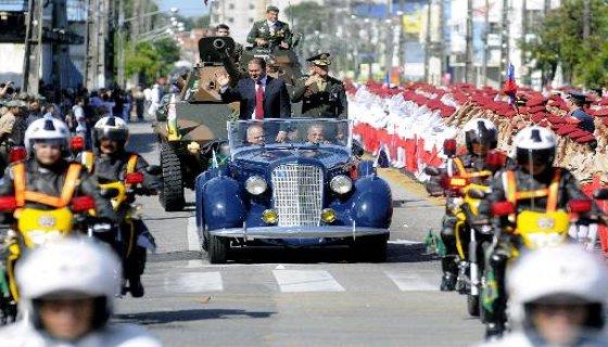 Desfile 7 de setembro Recife - Foto - Hélder tavares DP/D.A.Press