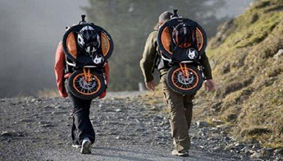 Bicicleta dobravel - repodução/internet