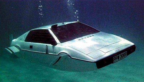 Carro submarino - reprodução/internet