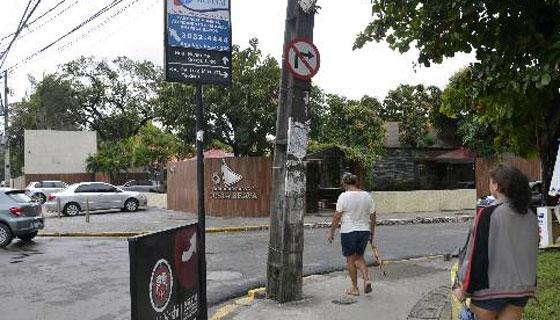 Binário na Rua Barao de Souza- Foto - Cristiane Souza DP/Esp D.A.Press