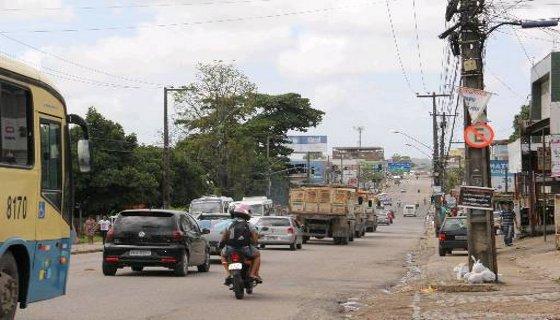 Avenida Belmino Correia - Camaragibe Foto - Tânia Passos DP/D.A.Press