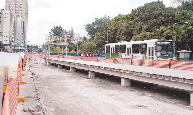 Novo governo terá que concluir obras dos corredores de BRT Foto Teresa Maia DP/D.A.Press