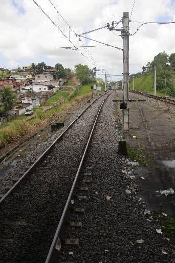 Uma pane da rede aérea provocou a paralisação de uma das linhas Foto Joana Calazans DP/D.A.Press