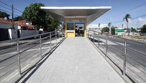 Estação de BRT no corredor Leste/Oeste - Foto - Alcione Ferreira - DP.D.A/Press