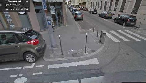 Modelo de martelo urbano implantado em Lyon, na França - Foto- Reprodução/Internet
