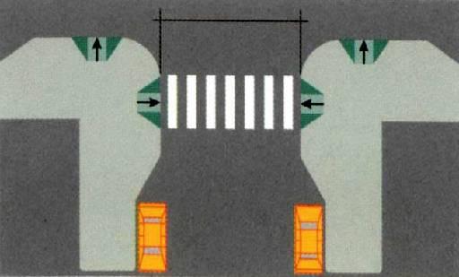 Desenho de implantação do martelo urbano nas esquinas - Foto - Reprodução internet