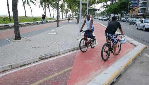 Ciclovia de Boa Viagem - Foto Ricardo Fernandes DP/D.A.Press