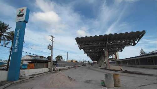 Terminal da 3ª Perimetral deverá operar a partir de dezembro. Foto Annaclarice Almeida DP/D.A.Press