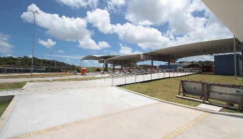 Terminal de Abreu e Lima está praticamente pronto para operar em dezembro. Foto Annaclarice Almeida DP/D.A.Press