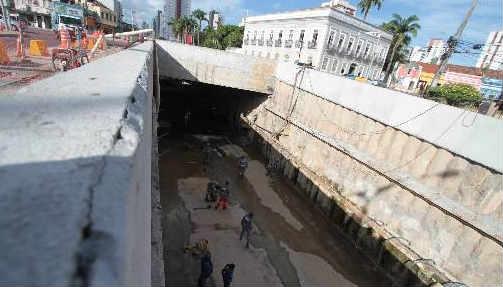 Túnel da Abolição no corredor Leste/Oeste será aberto para o tráfego em dezembro Foto Annaclarice Almeida DP/D.A.Press