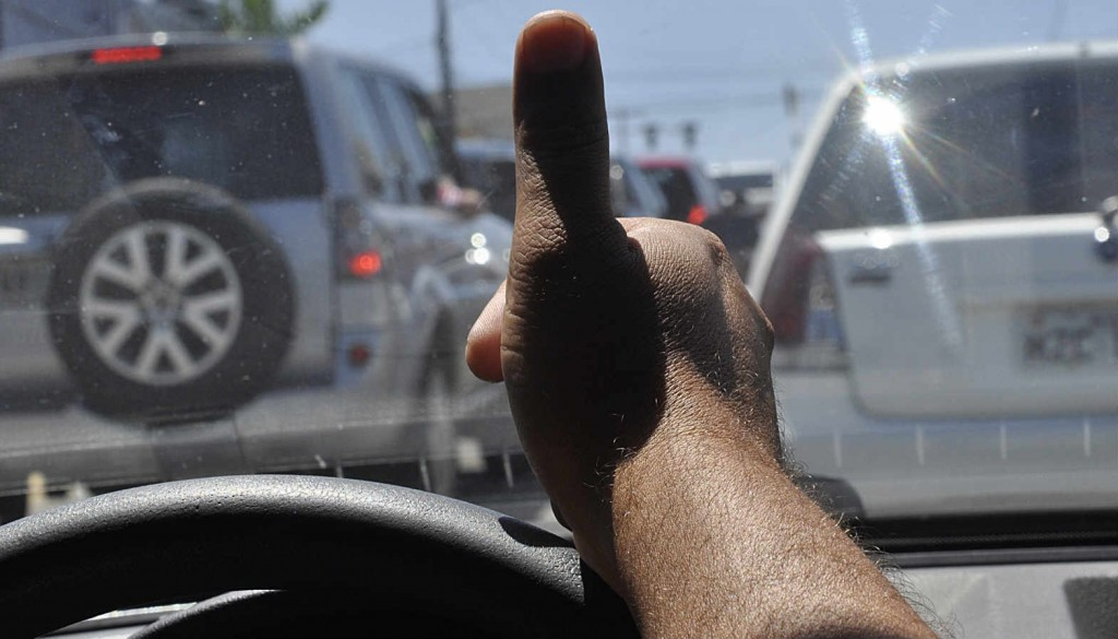A gentileza no trânsito reduz o estresse Foto - Reprodução/internet