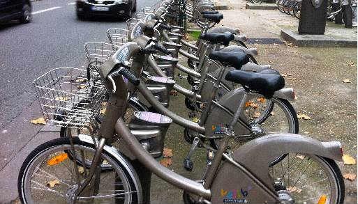 Incentivo ao trabalhador para usar bicicletas em Paris - Foto Tânia Passos DP/D.A.Press