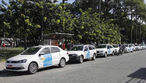 Taxistas terão que fazer curso para exercer a profissão. Foto: Debora Rosa/Esp.DP/D.A.Press.
