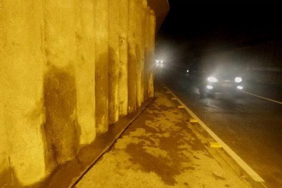 Túnel da Abolição apresenta infiltrações . Foto: Ricardo Fernandes DP.D.A.Press