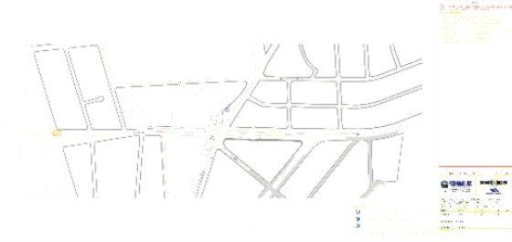 Desenho do projeto do túnel continha três faixas, sendo uma para o corredor de ônibus