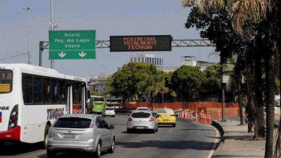 Painel de Mensagens Variadas (PMV) em São Paulo. A CTTU tem planos de instalar 13 painéis na capital pernambucana em 2016