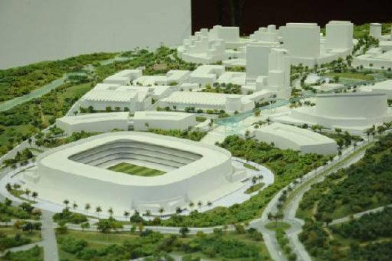 Cidade da Copa só ficou na maquete crédito: Arena/reprodução