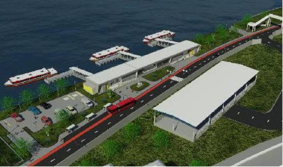 Previsto para ser entregue em 2014, projeto de navegabilidade tem nova previsão em 2017 - crédito: Secretaria das Cidades/Reprodução