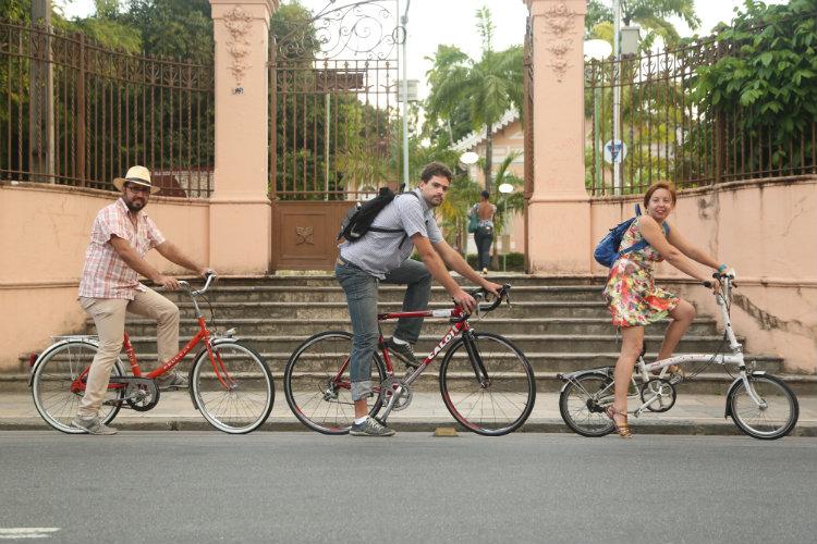A evolução da bicicleta como modal de transporte Foto: Hesiodo Goes DP/DP.D.A.Press