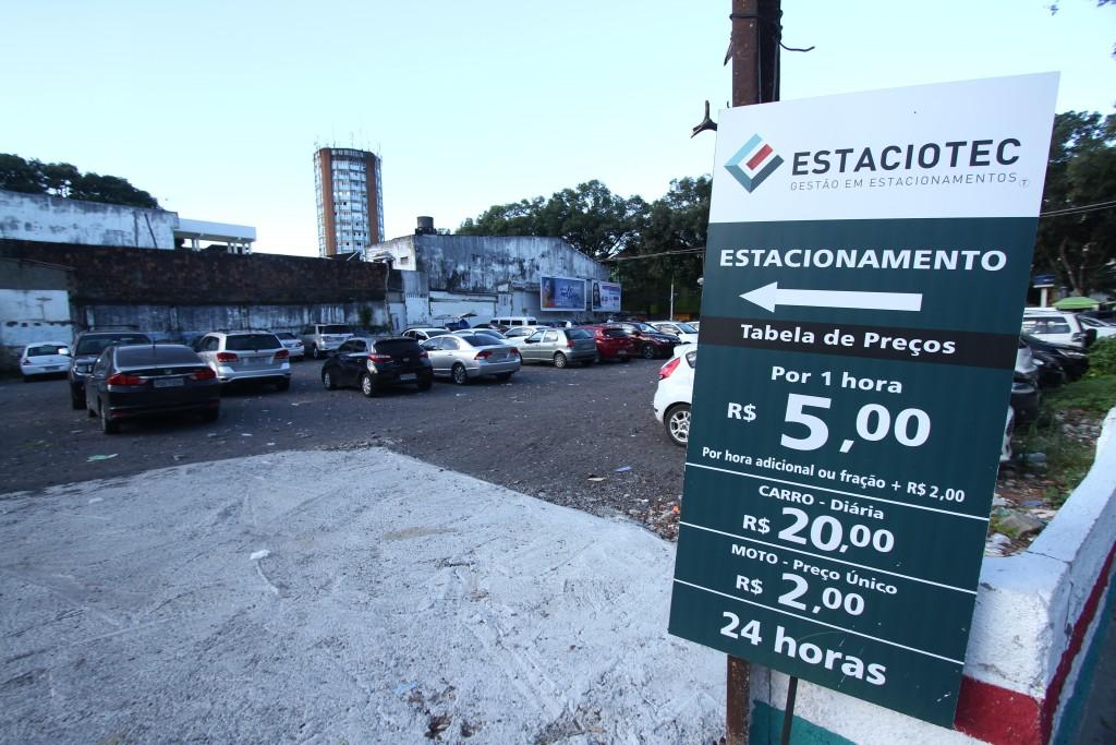 Estacionamento na Rua do Progresso, Boa Vista - Foto: Peu Ricardo/Esp.DP
