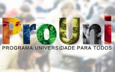 Termina hoje prazo para inscrição no ProUni para estudantes não matriculados