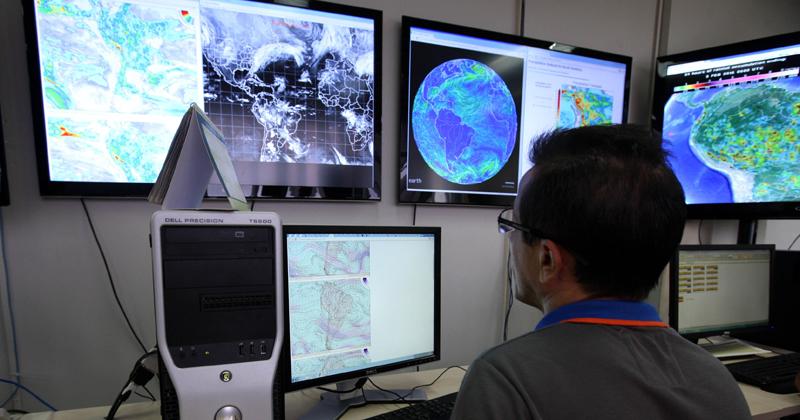 Conheça o curso: Muito além da previsão do tempo, meteorologia também estuda poluição, eletricidade atmosférica e recursos hídricos