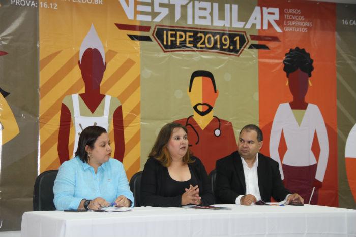 IFPE divulga concorrência do Vestibular 2019.1