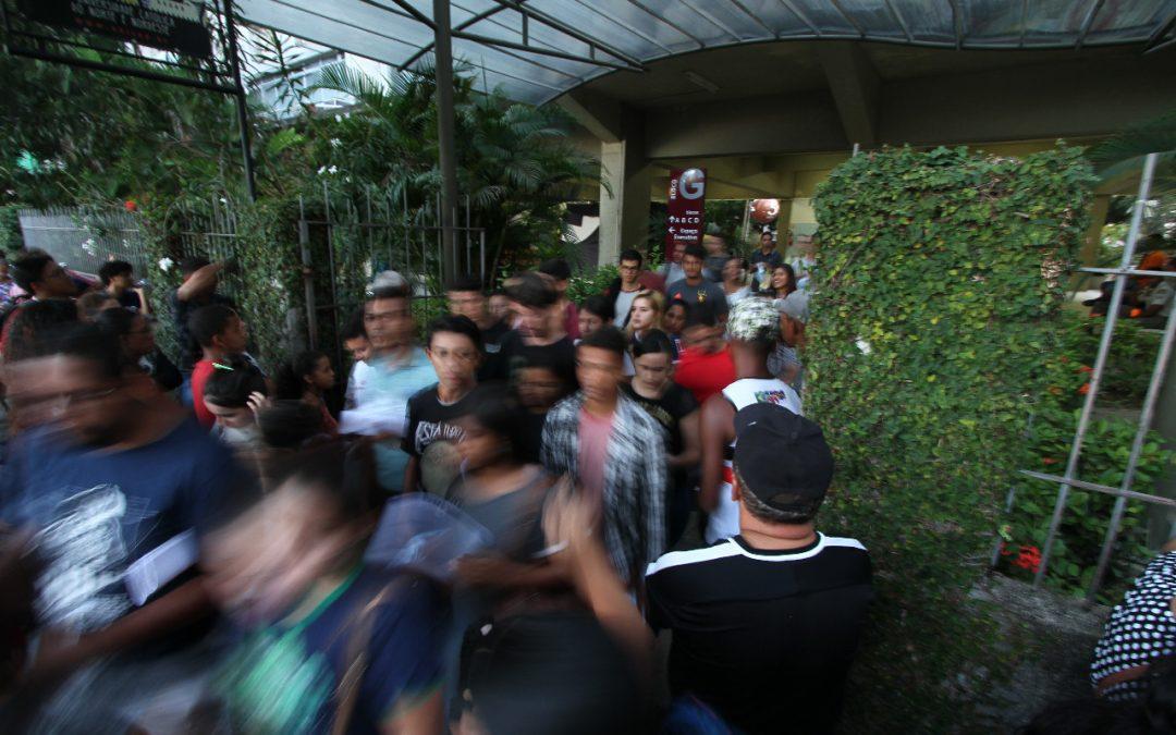 Duas ocorrências policiais em Pernambuco durante a aplicação do Enem